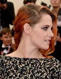 La tresse en épi décoiffée de Kristen Stewart