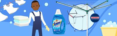 Saubere Gewinne für deine Wäsche!