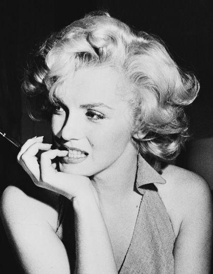 Marilyn Monroe i jej charakterystyczne loki