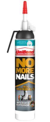 No More Nails All Materials Interior & Exterior