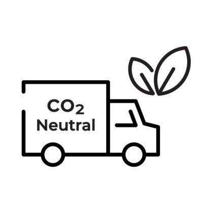"""Ein Symbol von Persil für """"CO2 neurtal versenden"""""""