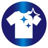 """Prednosti detergenta Persil Gel proti neprijetnim vojavam: simbol za """"učinkovito odstranjevanje madeže""""."""