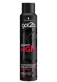 Thumbnail – Уплотняющий лак для волос got2b ROARING HIGH