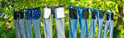 How to wash jeans properly