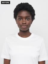 Essential Looks E-phoria Salon Look Before Makeover Model