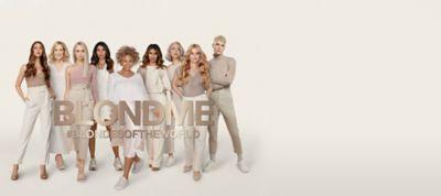 BLONDME #BLONDESOFTHEWORLD campaign 9 models