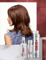 OSiS+ Keep It Light Model Chin Chin With OSiS+ Products