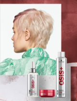 OSiS+ Keep It Light Model Zuzanna With OSiS+ Products