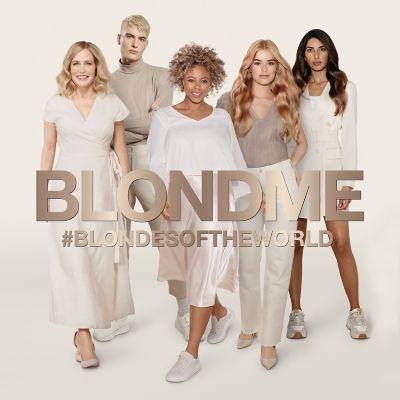 BLONDME #BLONDESOFTHEWORLD campaign 5 models