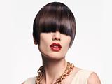 Essential Looks Royal Glory Model With Sleak Brunette Pageboy Cut