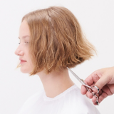 Magical Whimsy Salon Look Hair Being Cut Step 7
