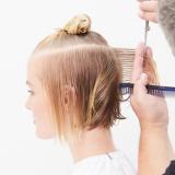 Magical Whimsy Salon Look Hair Being Cut Step 2