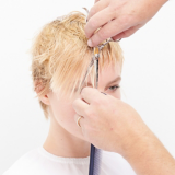 Magical Whimsy Salon Look Hair Being Cut Step 8