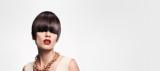Essential Looks Royal Glory Model With Sleek Brunette Pageboy Cut