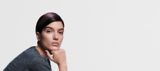 Essential Looks Back to Classics Model With Sleek Brunette Pixie Cut
