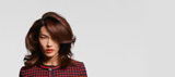 Back to Classics Model With Brunette Voluminous Waves