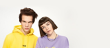 OSiS+ Man and Woman with Styled Dark Hair