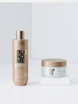 BLONDME Care All Blondes Detox Shampoo and Detox Mask Packaging