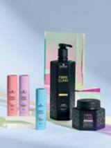 Fibre Clinix Fortify, Vibrancy, Hydrate Booster, Tribond Shampoo and Tribond Treatment Packages