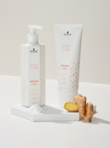 Scalp Clinix Flake Control Range With Octopirox And Ginger Ingredients