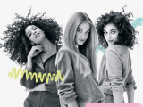 Mad About Models with Long, Straight and Curly Hair
