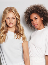BLONDME Blondes Of The World Models with Long Wavy and Short Curly Blonde Hair