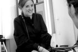 Lesley Jennison Black and White Portrait