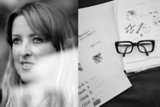 Lesley Jennison And Sketch Pad Image