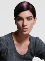Back to Classics Model With Sleek Brunette Pixie Cut