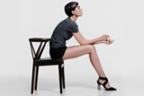 Back to Classics Model Sat On Chair