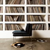 Once Upon A Time Inspiration Bookshelves Filled With Vinyl Records