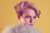 Once Upon A Time Catwalk Look Model With Blonde Brushed Back Bob