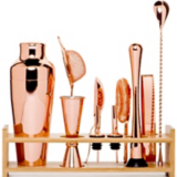 Everyday Decadence Inspiration Copper Cocktail Making Set