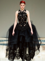 Dark Romance Inspiration Alexander McQueen Model