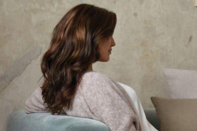tbh – true beautiful honest Model With Long Wavy Brunette Hair