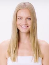 BLONDME Hollywood Model With Blonde Straight Hair
