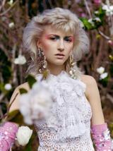 Essential Looks Modern Mullet Model With Blonde Hair