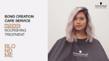 BLONDME Care Light To Dark Video Model With Wavy Lilac Blonde Hair and Shadow Roots