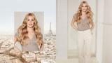 BLONDME Serena Paris Video Model With Long Warn Blonde Wavy Hair