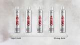 OSiS+ Keep It Light Hairsprays Range Guide