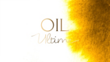 Oil Ultime logo on textured background