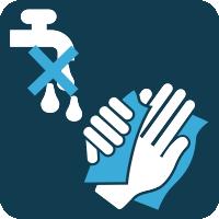 dodirujte isključivo suhim rukama