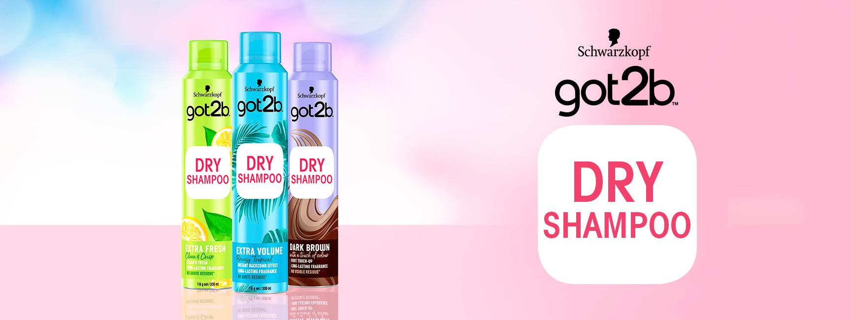 Shampoo en seco para tus necesidades