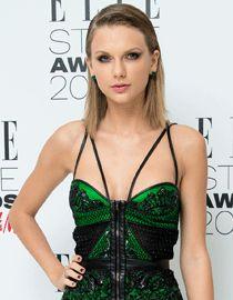 Le look sleek de Taylor Swift