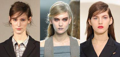 Trendi frizure s razdjeljkom na stranu