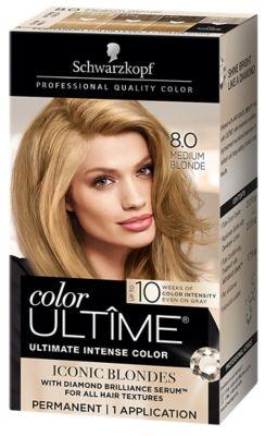 8.0 Medium Blonde