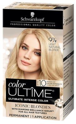 9 1/2 Light Natural Blonde