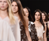 Models rock healthy hair on the catwalk
