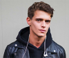 Find out about styling curly hair for men