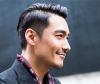 Man wearing a Kpop hairstyle